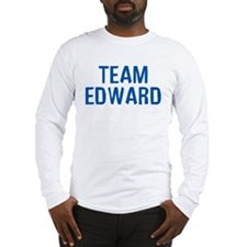 Team Edward (Dark Blue) Long Sleeve T-Shirt