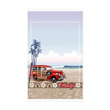 BEACHED WOODY Rectangle Sticker 10 pk)