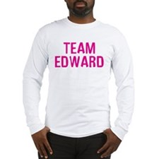 Team Edward (Dark Pink) Long Sleeve T-Shirt