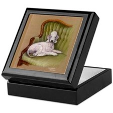 Bedlington-Her Royal Highness Keepsake Box