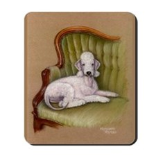 Bedlington-Her Royal Highness Mousepad
