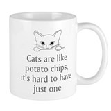 Cats Potato Chips Coffee Mug
