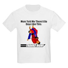 Mamma's Boy Grappling Kids T-Shirt