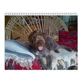 German Wirehaired Pointer Wall Calendar