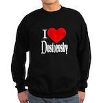 I Love Dostoevsky Sweatshirt (dark)