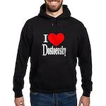 I Love Dostoevsky Hoodie (dark)