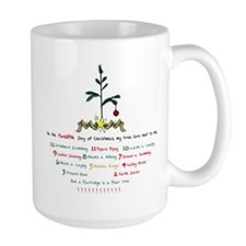 12 Days of Christmas Mug