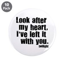 "Twilight Movie Quote 3.5"" Button (10 pack)"
