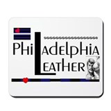 philadelphia leather Mousepad