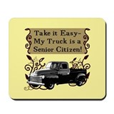 Senior Citizen Truck Mousepad