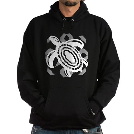 Cut Out Turtle Hoodie (dark)