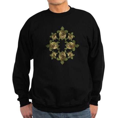 Garden Turtles Sweatshirt (dark)