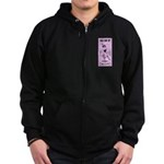 Friend of the Bride Zip Hoodie (dark)