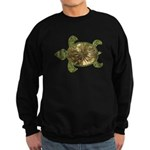 Garden Turtle Sweatshirt (dark)