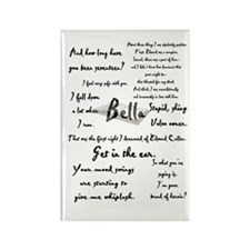 Bella Quotes Rectangle Magnet