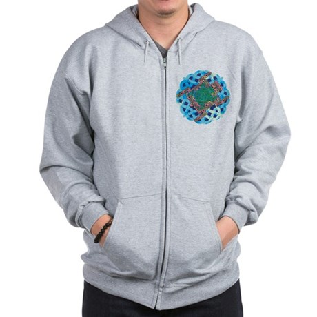Celtic Turtle Zip Hoodie