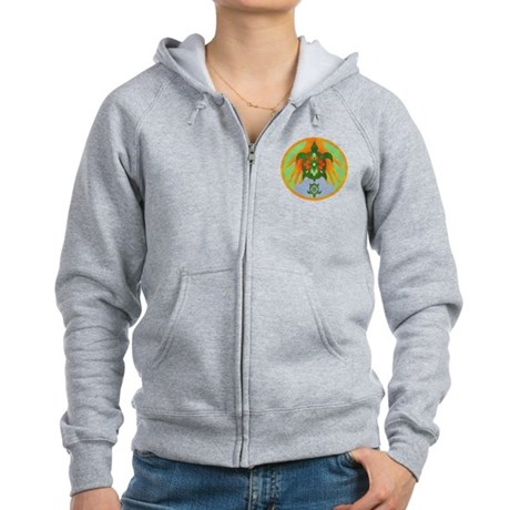 Turtle Hands Women's Zip Hoodie