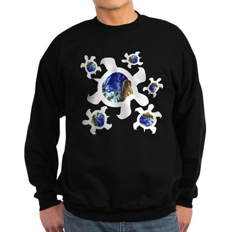 Earthly Turtles Sweatshirt (dark)