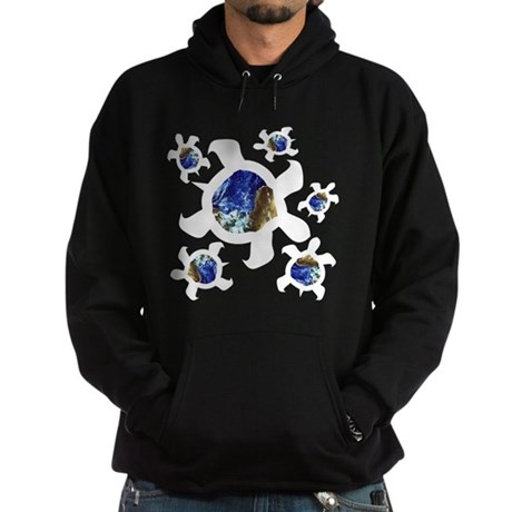 Earthly Turtles Hoodie (dark)