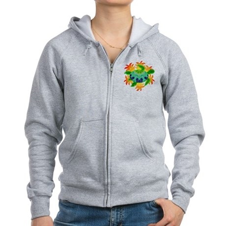 Flame Turtle Women's Zip Hoodie