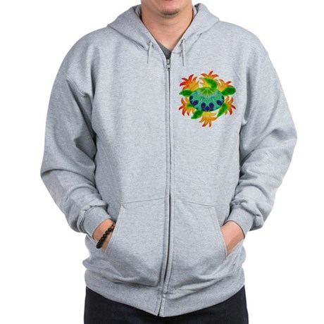 Flame Turtle Zip Hoodie