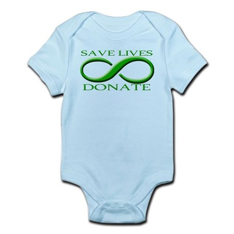 Save Lives DONATE Infant Bodysuit