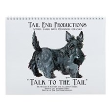 Scottie Logo Tail End Wall Calendar