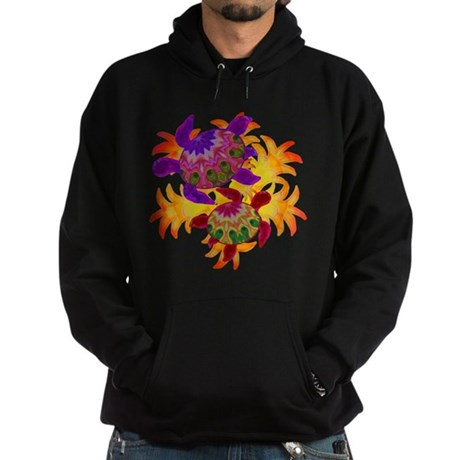 Flaming Turtles Hoodie (dark)