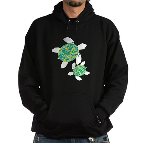 Sea Turtles Hoodie (dark)