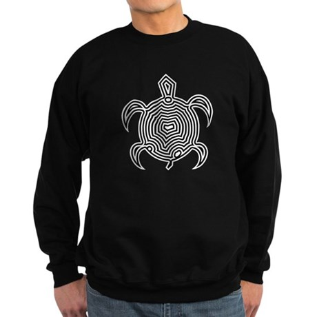 Labyrinth Turtle Sweatshirt (dark)