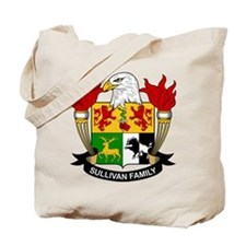 Sullivan Family Crest Tote Bag