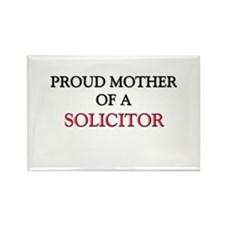 Proud Mother Of A SOLICITOR Rectangle Magnet (10 p