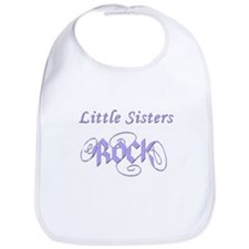 Little Sisters Rock Bib