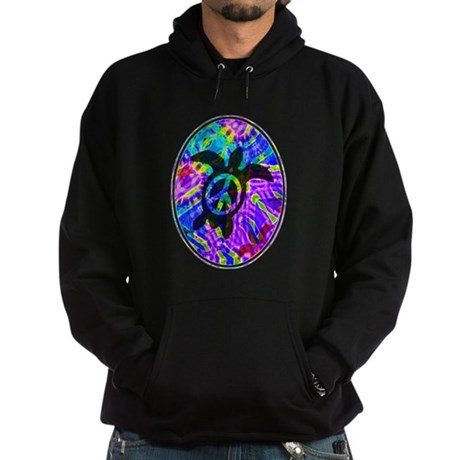 Peace Turtles Hoodie (dark)