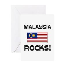 Malaysia Rocks! Greeting Card