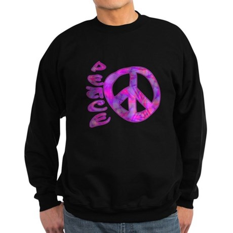 Pink Peace Sweatshirt (dark)