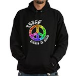 Peace Always in Style Hoodie (dark)