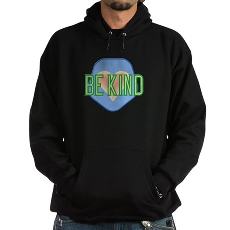 Be Kind Patch Hoodie (dark)
