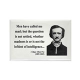 Edgar Allan Poe 18 Rectangle Magnet