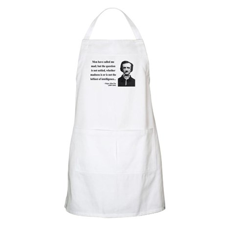 Edgar Allan Poe 18 BBQ Apron