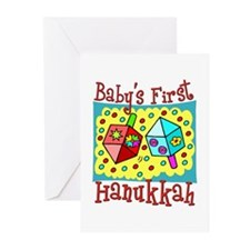 Baby's First Hanukkah Greeting Cards (Pk of 10)
