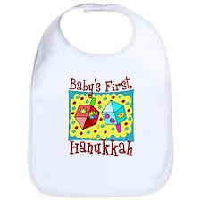 Baby's First Hanukkah Bib