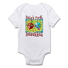 Baby's First Hanukkah Infant Bodysuit
