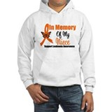 Leukemia InMemory Niece Hoodie