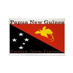 Papua New Guinea Rectangle Magnet (100 pack)