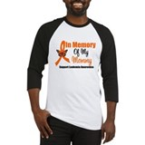 Leukemia In Memory Mommy Baseball Jersey