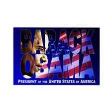 BARACK OBAMA! Rectangle Magnet (10 pack)