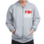 Full Blood Indian Zip Hoodie