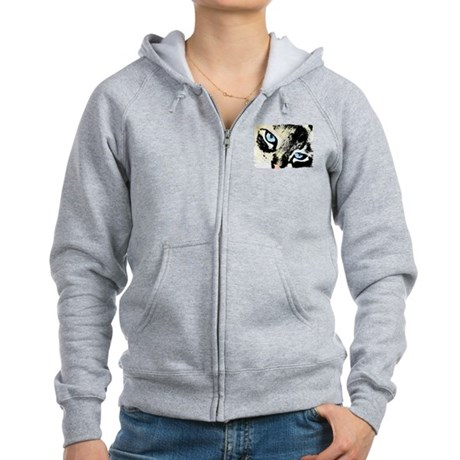 Ink Cat Women's Zip Hoodie
