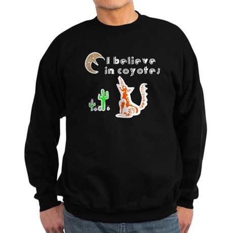 Believe in Coyotes Sweatshirt (dark)